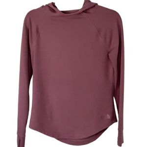 The North Face women's long sleeve hoodie top, XS